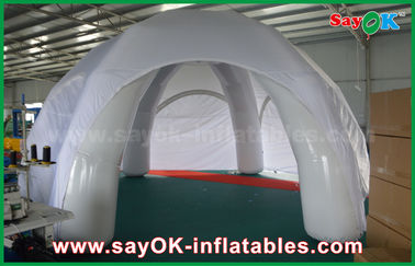 White Waterproof Inflatable Air Tent Customized PVC Inflatable Dome Tent For Event