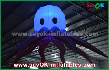 Giant Sea Animal Lighting Octopus / Devilfish Inflatable Lighting for Decoration or Party