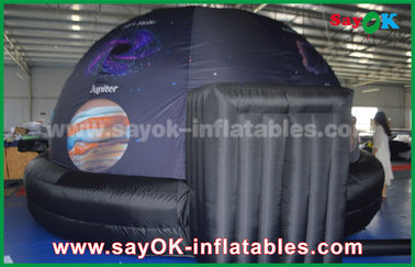 Mobile Projection Inflatable Planetarium Dome for School / Public show