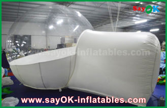 Giant Transparent White Inflatable Bubble Tent for Camping / Rent / Promotion / Advertising