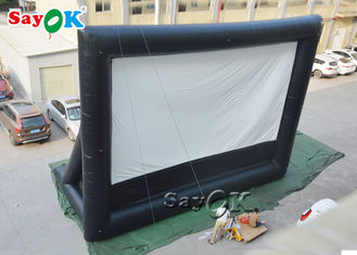 Black And White School  Inflatable Projector Movie Screen