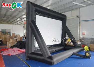 Rear Projection Cloth Event  Inflatable Movie Screen