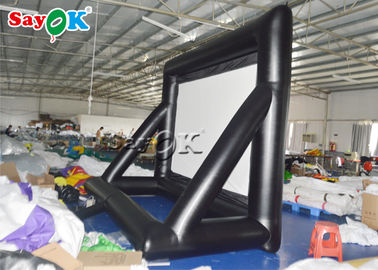 Mobile Double - Faced ROSH Inflatable Movie Screen