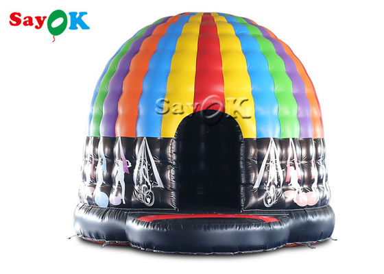5x4x3.5mH Led Inflatable Disco Dome Tent For Music Dance Party Event