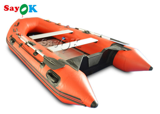Durable 2 - 4 Person PVC Inflatable Boats For Water Games SGS UL