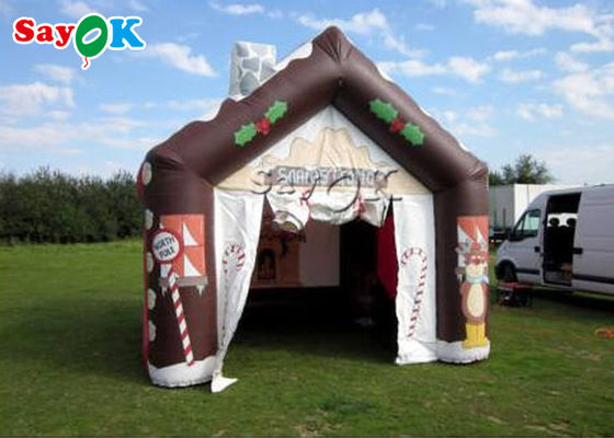 Customized Outdoor Christmas Inflatable Tent For Kid Party
