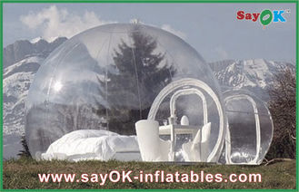 Large Outdoor Inflatable Tent Bubble Transparent Inflatable Camping Tent For 2 Man